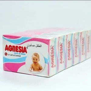 Agnesia Baby Soap With Milk & Honey A Pack Of 6 Pieces