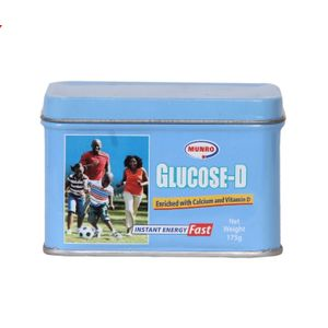 Munro Glucose D – Enriched With Calcium & Vitamin D – 175g